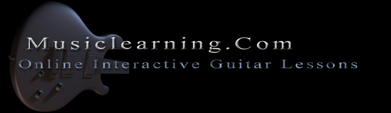 guitar lessons at musiclearning banner